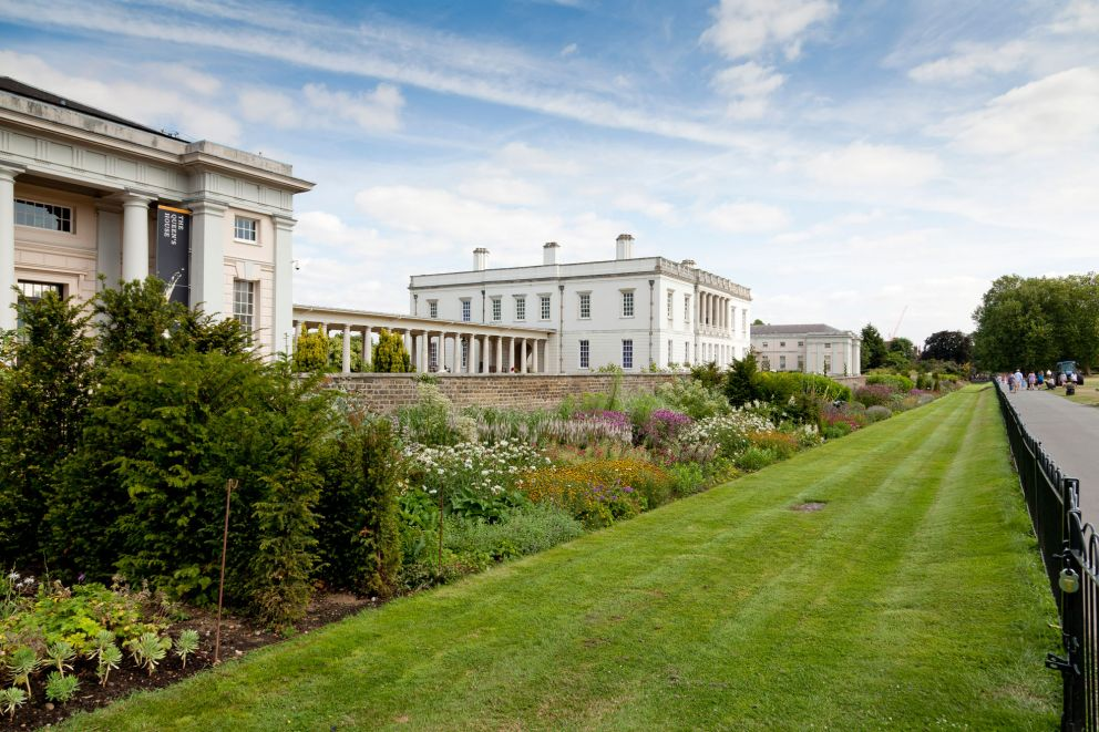 The Herbaceous Border in Greenwich Park
