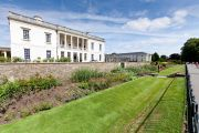 The Queen's House and the Herbaceous Border