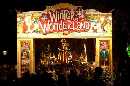 Road closures for Hyde Park Winter Wonderland