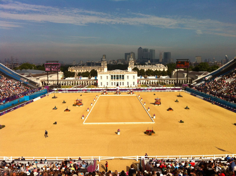 The Greenwich Park Paralympic Venue