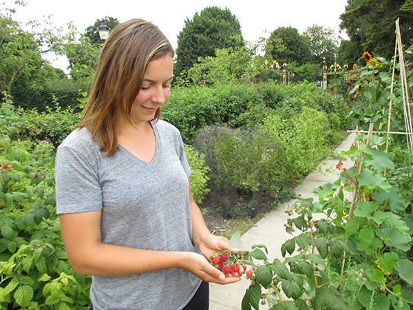 Julie Riehl at the Allotment in Regent's Park