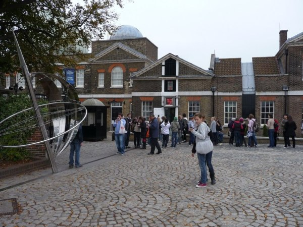 Meridian line in the Royal Observatory in Greenwich