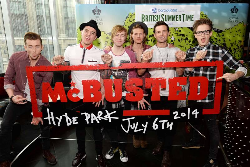 McBusted at Barclaycard presents British Summer Time Hyde Park