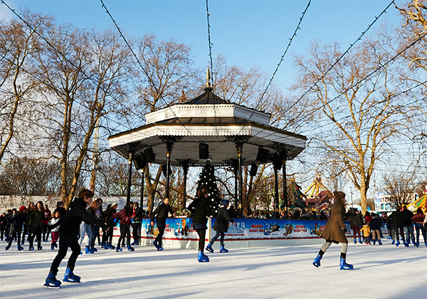 Ice Rink at Hyde Park Winter Wonder