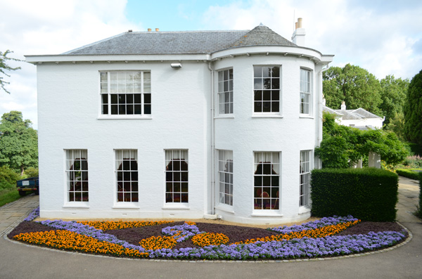 Pembroke Lodge Cycling Flowerbed