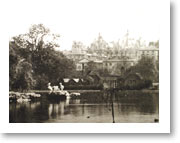 St James's Park - St. James�s Park c.1880 showing the pelicans on Duck Island. Courtesy of Westminster City Archives.