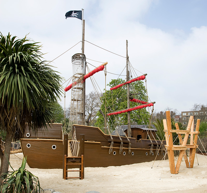 Pirate Ship in the Diana Memorial Playground