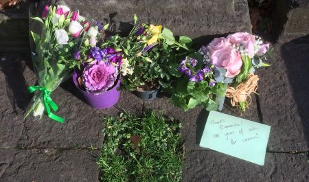 Deeds Not Words: Commemorating Emmeline Pankhurst at Brompton Cemetery