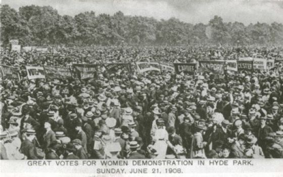Votes for Women Demonstration © Imperial War Museum