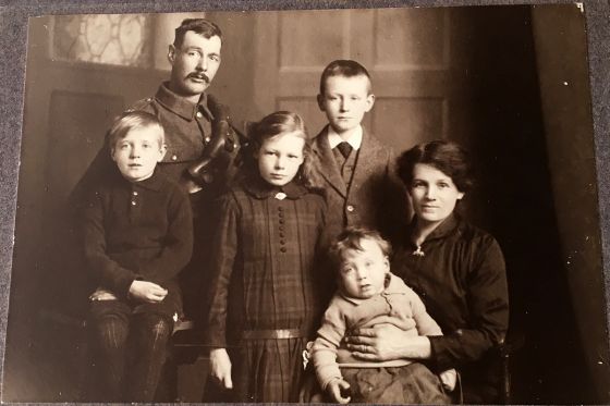 Arthur William Berry's family