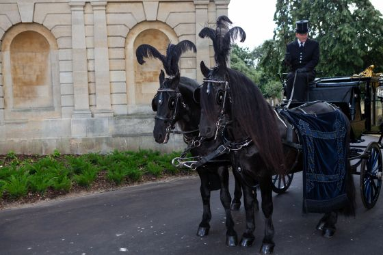 Brompton Launch traditional hearse