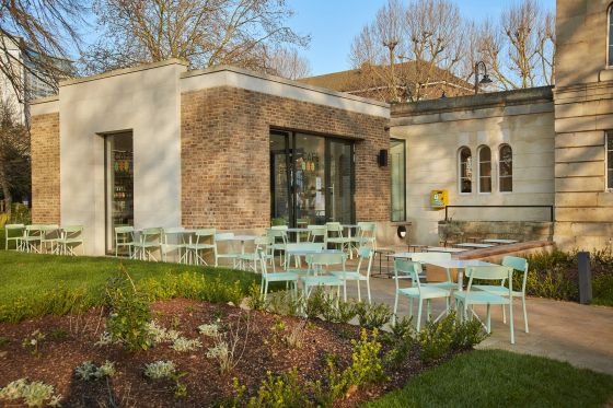 North Lodge Cafe in Brompton Cemetery