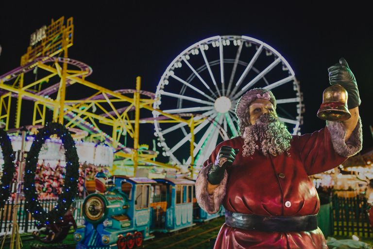 Father Christmas at Winter Wonderland