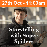 Storytelling with Super Spiders