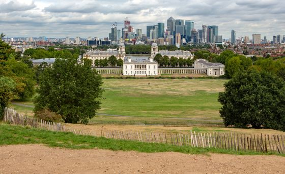 View from Greenwich Maritime