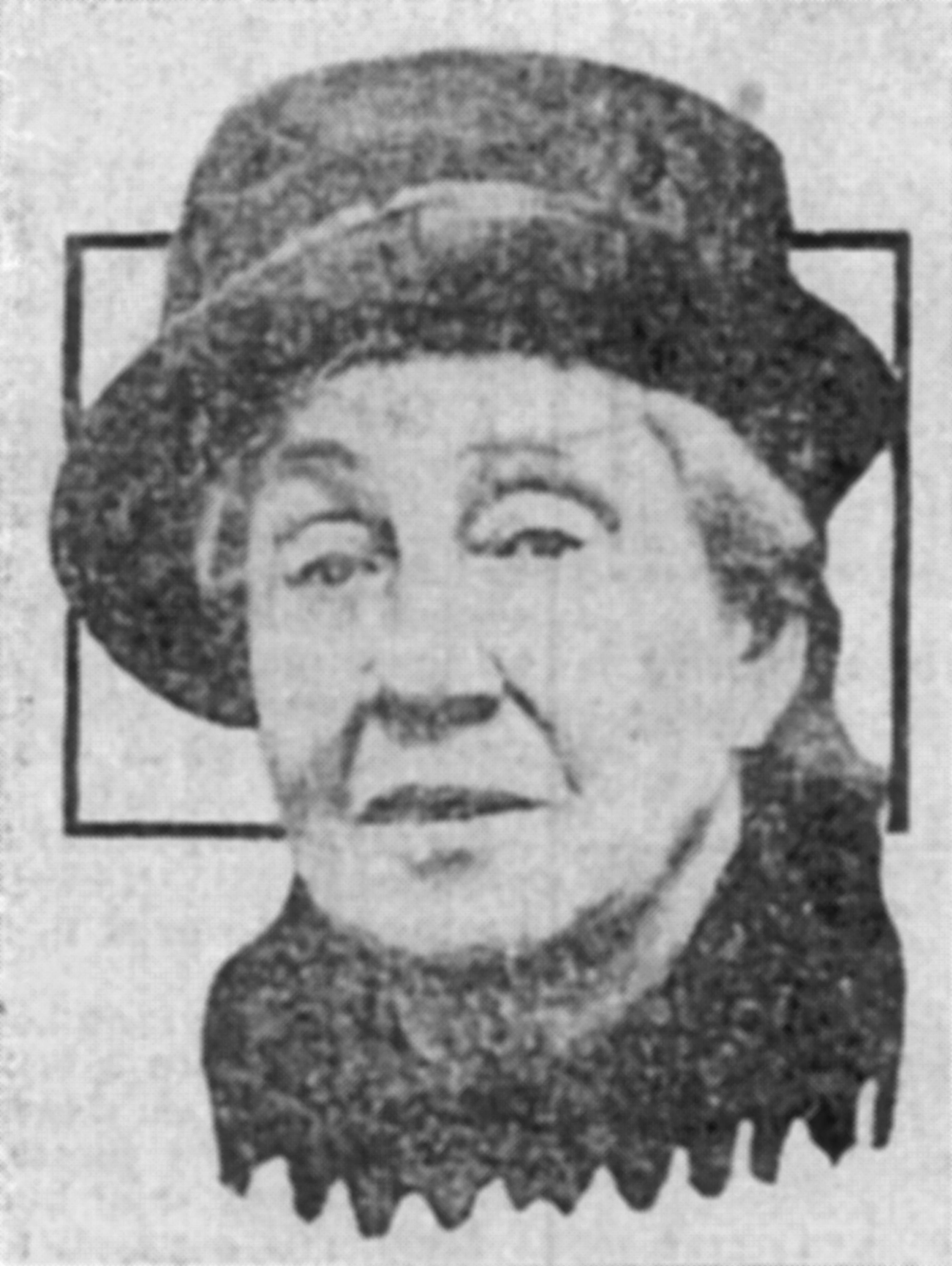 Ruth Belville in the Evening News, 1929