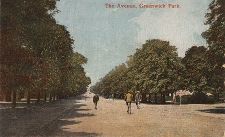 The changing scenes of Greenwich Park