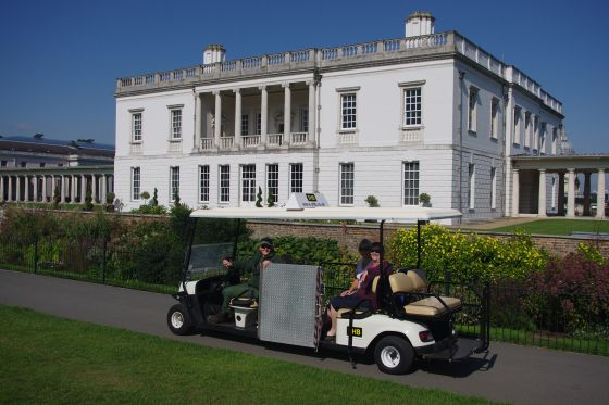 accessibility buggy at Queens House