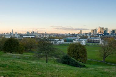 View from the Giant Steps in Greenwich Park