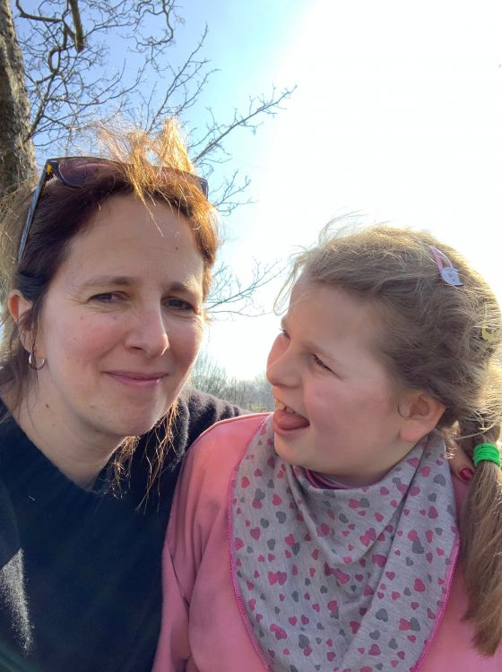 Vivien and her daughter Leonie enjoy visiting Greenwich Park playground
