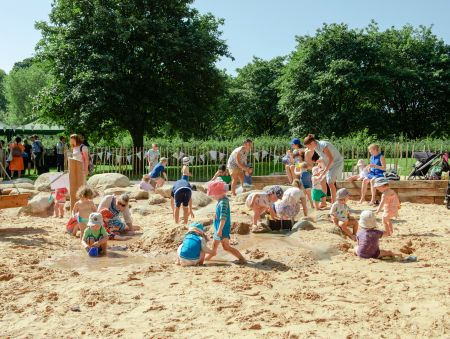 Greenwich Park's inclusive new playground