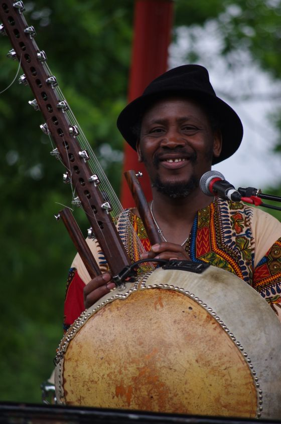 West African musician Mose Conde
