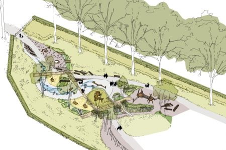 The Royal Parks begins building an inclusive playground at Greenwich Park