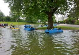 Boating in Greenwich Park