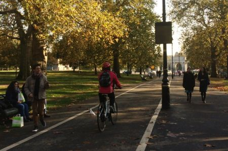 Cycle speeds as high as 32mph tackled with new calming scheme