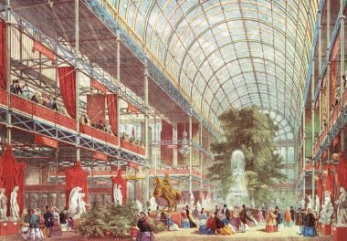 The Great Exhibition opening ceremony, 1851 © The Hearsum Collection