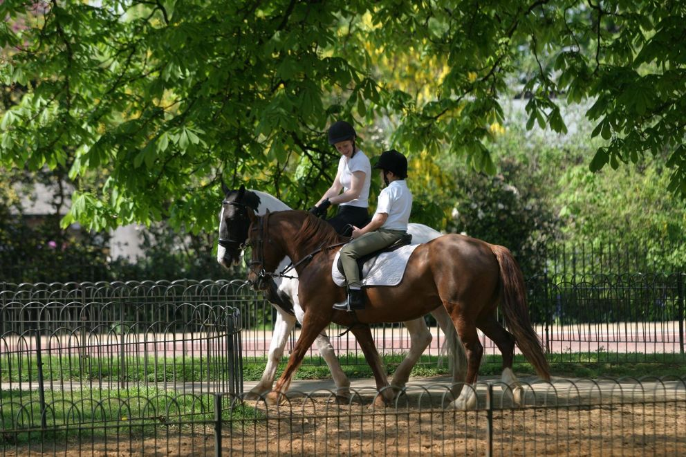 Horse riders in Hyde Park