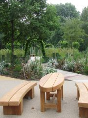 Hyde Park Playground - Seating