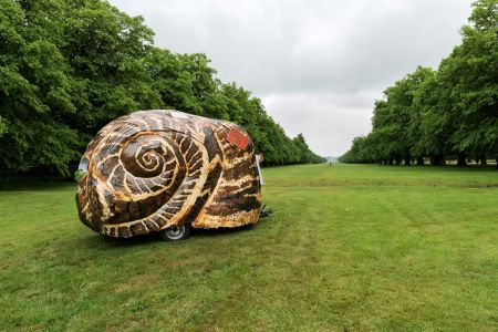 Giant snail becomes Royal Parks' newest resident
