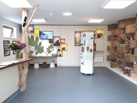 Chief Executive Andrew Scattergood opens new visitor centre in Bushy Park