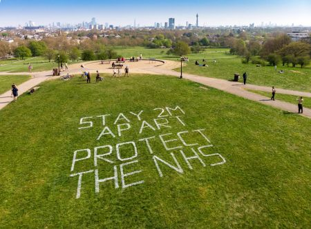 Park chiefs ask Londoners: social distance to stop COVID spread                        - The Royal Parks