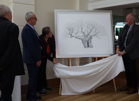 Unveiling the Royal Oak artwork by Mark Frith