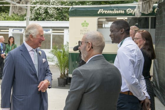 Prince of Wales in Hyde Park