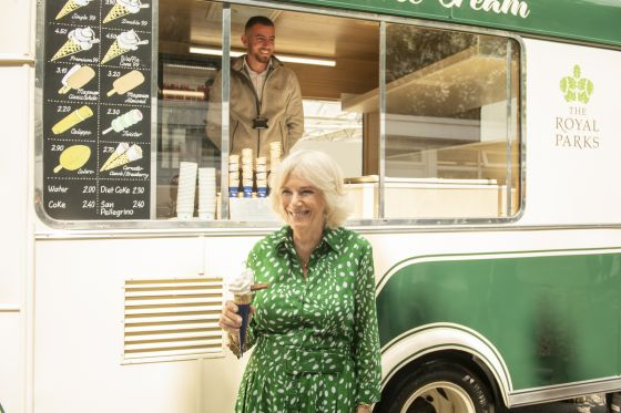 Duchess of Cornwall in Hyde Park