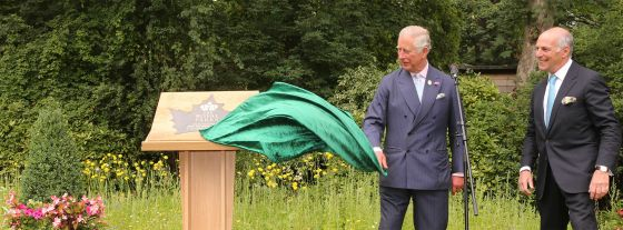 HRH Prince Charles and Loyd Grossman launching new Royal Parks charity