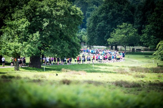 London 10 Mile in Richmond Park
