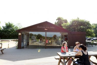 Roehampton Gate Cafe and outside seating