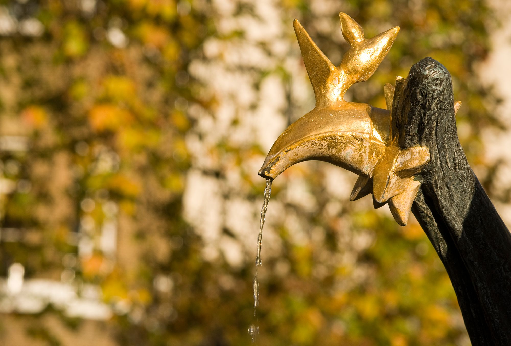 Close up of the Constance Fountain