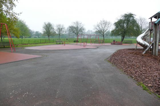 The former Gloucester Gate Playground