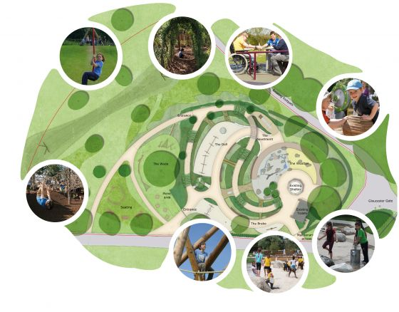 Plans for Gloucester Gate Playground