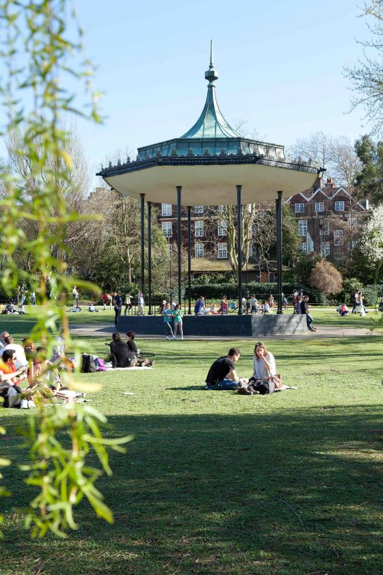The bandstand in The Regent's Park
