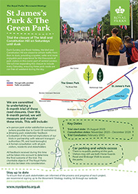 Movement Strategy Fact Sheet - St. James's Park and The Green Park