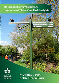 Movement Strategy Survey Insights - St. James's Park and The Green Park