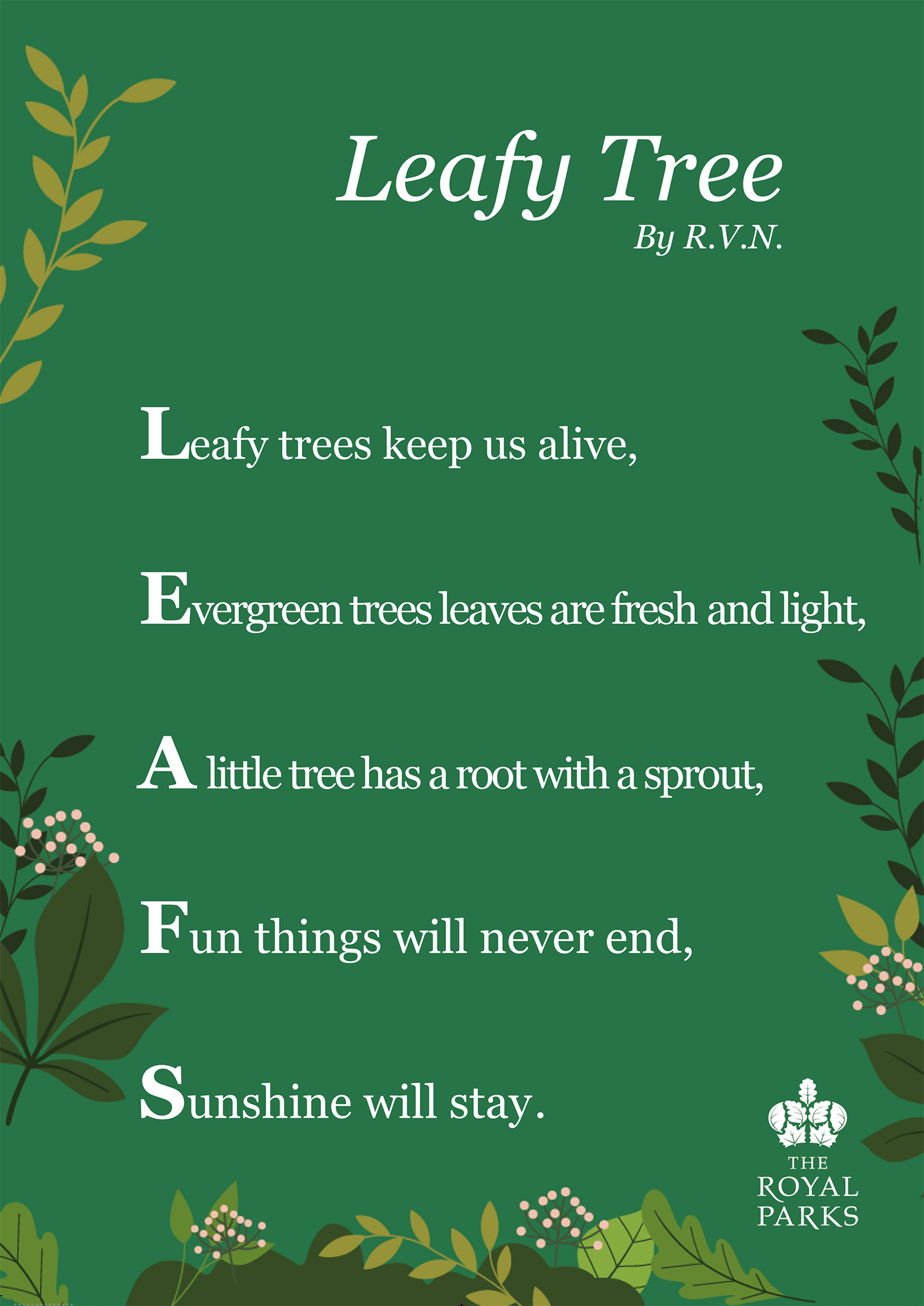 Leafy Tree by R.V.N. (Our Lady Immaculate Catholic Primary School)