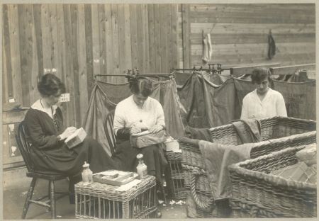 Women getting it sorted: sending mail to the troops in WW1