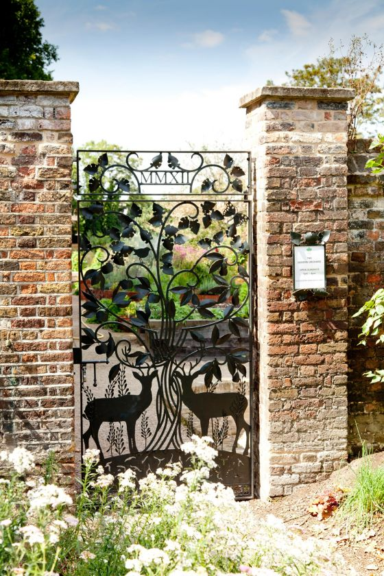 Gate to the Queen's Orchard